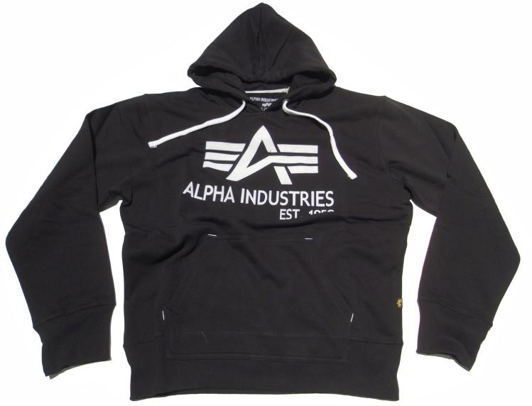 alpha industries kapuzensweatshirt big a classic alpha. Black Bedroom Furniture Sets. Home Design Ideas