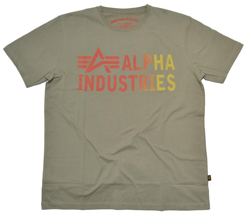 alpha industries t shirt basic print 3 707357 alpha. Black Bedroom Furniture Sets. Home Design Ideas