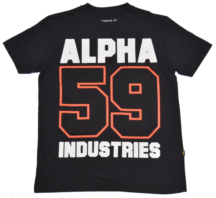 alpha industries t shirt basic print 11 alpha industries. Black Bedroom Furniture Sets. Home Design Ideas
