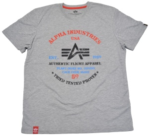 Alpha Industries Authentic Print T T-Shirt