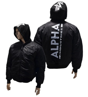 Alpha Industries MA-1 ZH Back Print Jacke