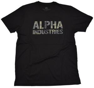 Alpha Industries T-Shirt Camo Print