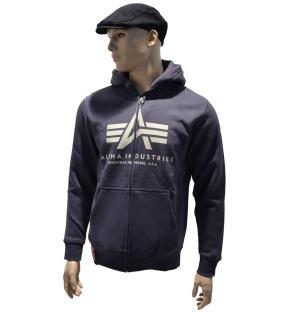 Alpha Industries Kapuzenjacke Big A Basic Zip Hood