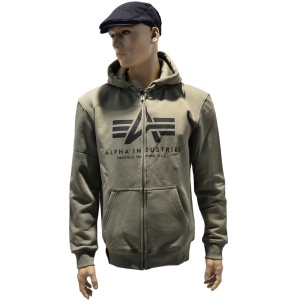 Alpha industries Kapuzenjacke Big A basic Zip Hoody