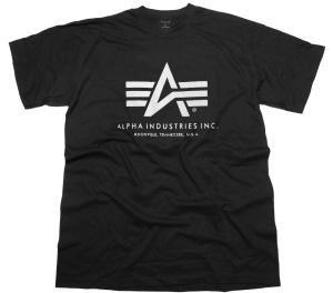 Alpha Industries T-Shirt 100501 bis Übergrösse