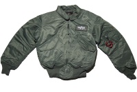 Alpha Industries CWU 45 P Fliegerjacke Art 100102
