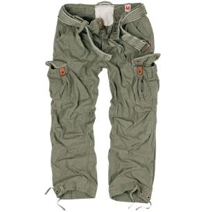 Premium Vintage Army Hose Surplus weit geschnittene Cargohose mit 2 Seitentaschen eine perfekte Outdoorhose