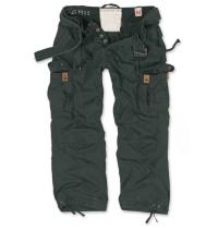 Surplus Premium Vintage Army Hose weit geschnittene Cargo-Hose mit 2 Seitentaschen eine perfekte Outdoorhose