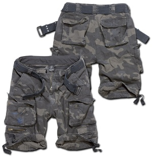 Brandit Short Savage Vintage kurze Cargo Hose bis Übergrösse