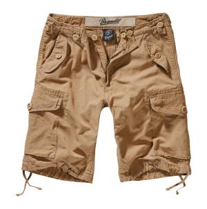 Brandit Short Hudson Ripstop kurze Cargo-Hose im Armystyle mit Seitentaschen