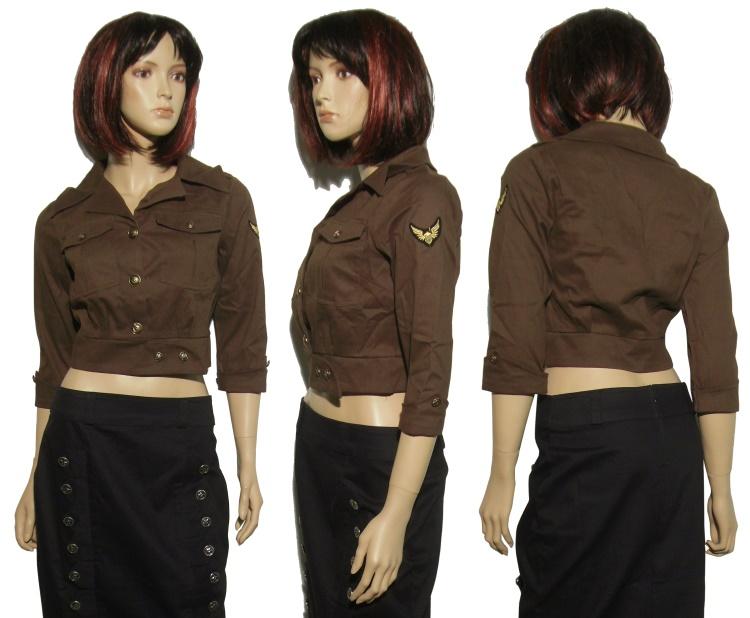 military jacke damen army girls details army rascal. Black Bedroom Furniture Sets. Home Design Ideas