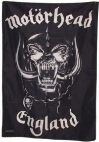 Motörhead England Posterfahne