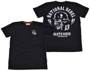 Dobermans Aggressive T-Shirt Death Rider VI National Rebel