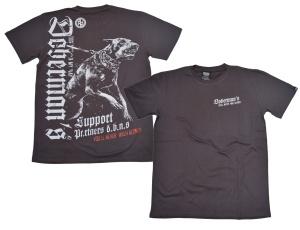 Dobermans Aggressive T-Shirt Dobermans in dunkelgrau