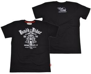 Dobermans Aggressive Sports Apparel T-Shirt Death Rider Bikermotiv