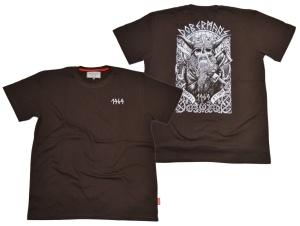 Dobermans Aggressive T-Shirt 1969 Wikinger Totenkopf Motiv