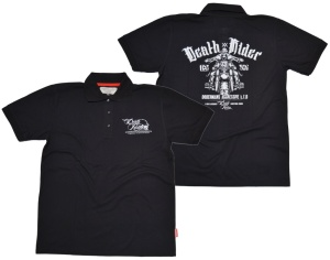 Dobermans Aggressive Streewear Polo-Shirt Death Rider