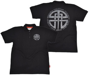 Dobermans Aggressive Viking Brand Polo-Shirt Celtic