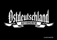 Aufkleber Ostdeutschland Actioncrew 10er Pack
