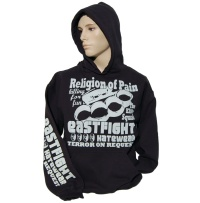 Kapuzensweatshirt Eastfight Religion Of Pain