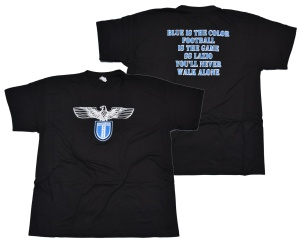 T-Shirt SS Lazio blue is the color