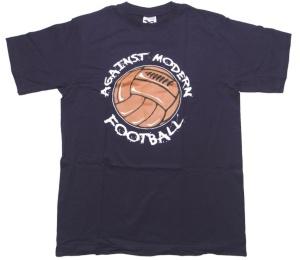 T-Shirt Against modern Football