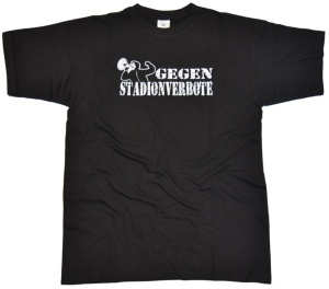 T-Shirt Gegen Stadionverbote Megaphone