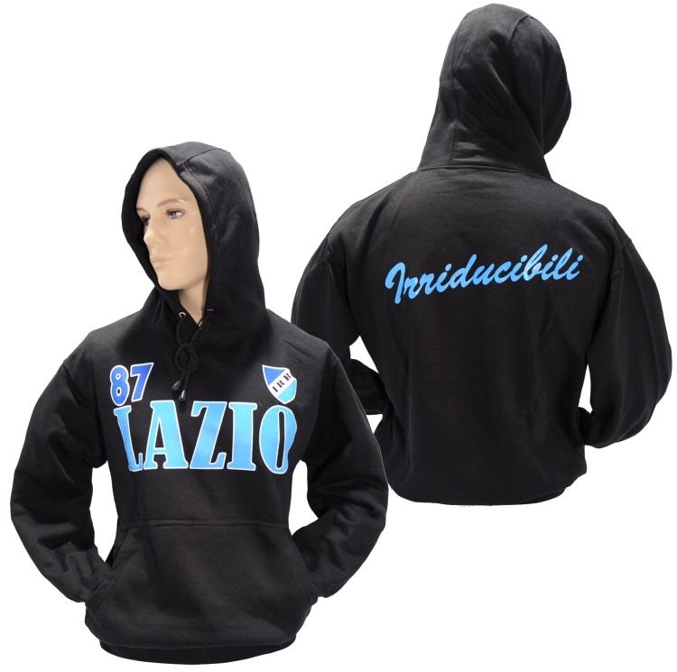 Kapuzensweatshirt lazio in xxl 3 halbzeit details for Irriducibili shop