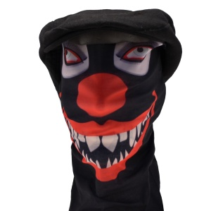 Multifunktions Tuch Horror Clown I