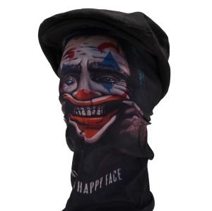 Multifunktions Tuch Horror Clown V