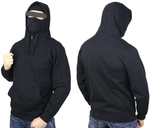 No Face no Name Ninja Kapuzensweatshirt Defender