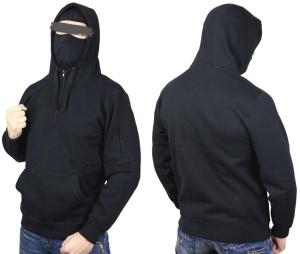 No Face no Name Ninja Kapuzensweatshirt Defender