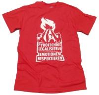 T-Shirt Pyrotechnik legalisieren G14