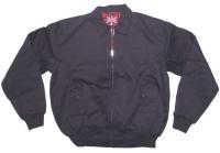 Sommer Jacke im Harrington Style schöne englandstyle Sommerjacke mit kariertem Innenfutter in navy