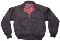 KBR Harrington Style Jacke schöne englandstyle Sommerjacke mit kariertem Innenfutter