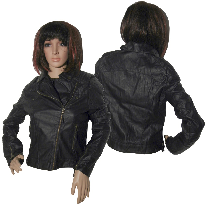 bikerjacke damen leder shop bikerjdamen bei www. Black Bedroom Furniture Sets. Home Design Ideas