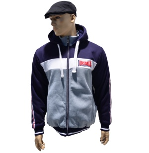 Lonsdale London Retro / old school Kapuzenjacke