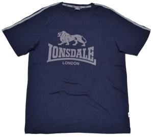 Lonsdale London T-Shirt 2 Streifen Löwen Logo