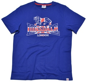 Lonsdale London T-Shirt mit Lonsdale Lion Logo