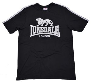 Lonsdale London T-Shirt mit großem Lion Logo
