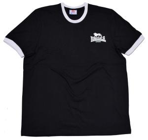 Lonsdale London Ringer T-Shirt in schwarz