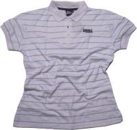 Lonsdale Damen Poloshirt gestreift