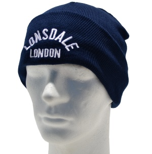 Lonsdale London Junior Beanie Strickmütze