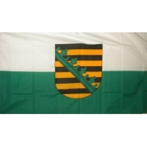 Fahne Freistaat Sachsen