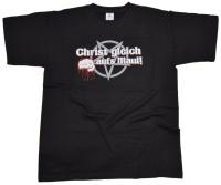 T-Shirt Christ gleich aufs Maul G556U