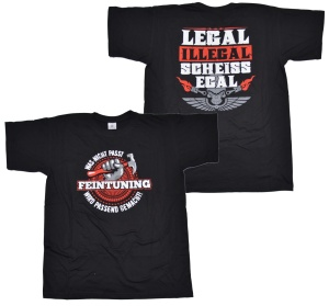 Racing Tuning T-Shirt Feintuning
