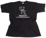 T-Shirt Zuhause ist wo man in Ruhe Kacken kann G41