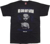 T-Shirt Toxico No God But Satan