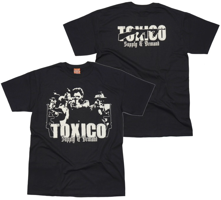 Toxico t shirt supply demand toxico shop tox16 bei for T shirt on demand