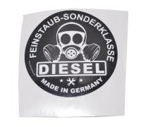 Aufkleber Diesel Feinstaub Sonderklasse